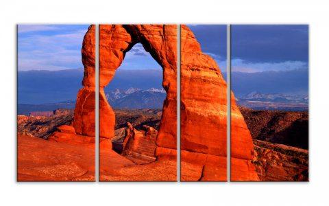 grand canyon usa leinwand 4 bilder xxl bild d00783 die leinwandfabrik. Black Bedroom Furniture Sets. Home Design Ideas