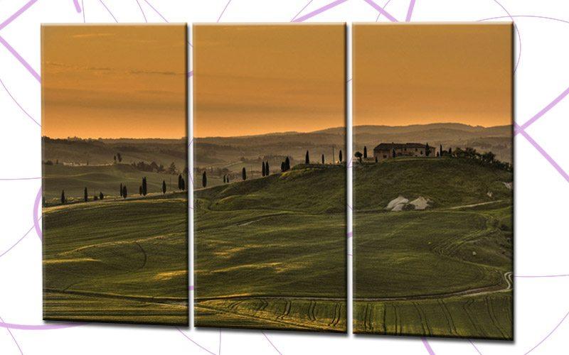 toskana leinwand 3 bilder frankreich landscape c00752 die leinwandfabrik. Black Bedroom Furniture Sets. Home Design Ideas