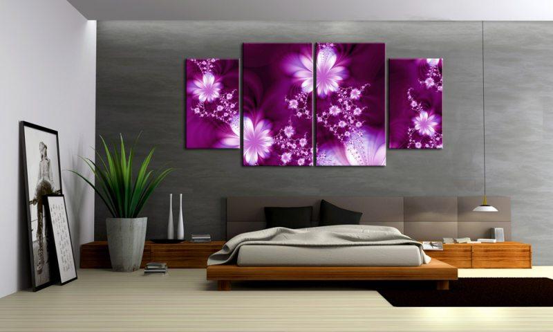 Wandbilder Wohnzimmer Blumen # Goetics.com > Inspiration Design ...