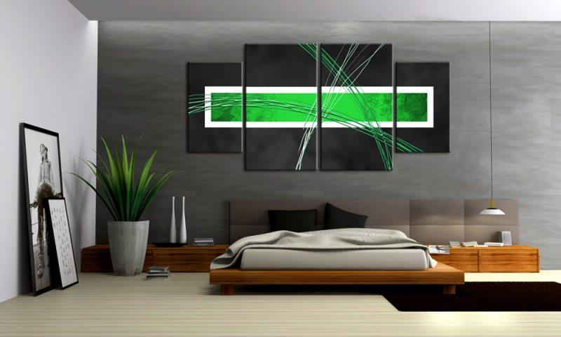 design : wandbilder wohnzimmer grün ~ inspirierende bilder von ...