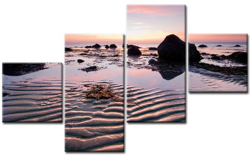 Xxl Leinwandbilder Gunstig ~ Beach in motion leinwand bilder lila m gÜnstig xxl die