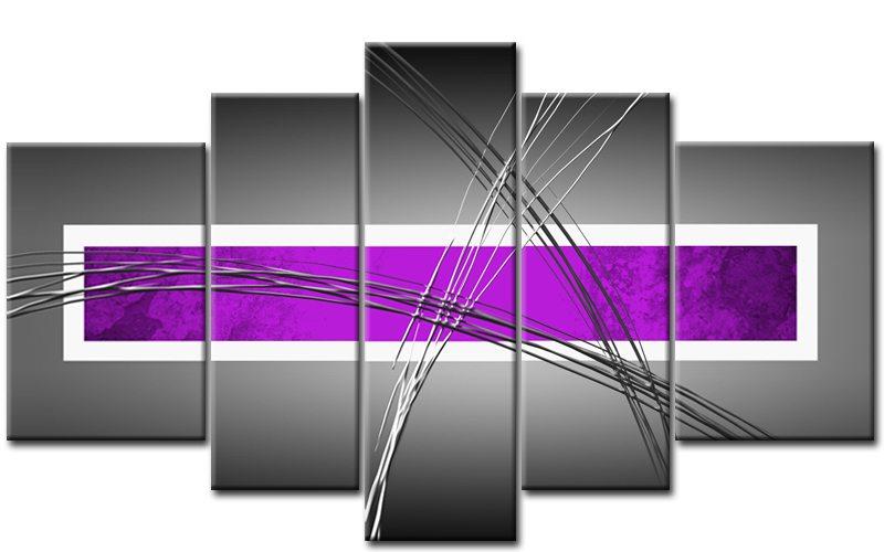 modern leinwand 5 bilder abstrakt art m50482 xxl die leinwandfabrik. Black Bedroom Furniture Sets. Home Design Ideas