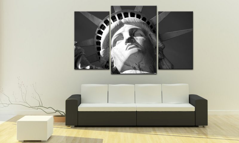 american liberty leinwand 3 bilder usa mxl30593 die leinwandfabrik. Black Bedroom Furniture Sets. Home Design Ideas