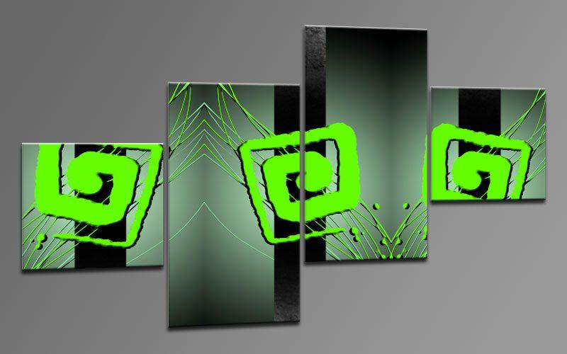 cool neon leinwand 4 bilder m42105 die leinwandfabrik. Black Bedroom Furniture Sets. Home Design Ideas