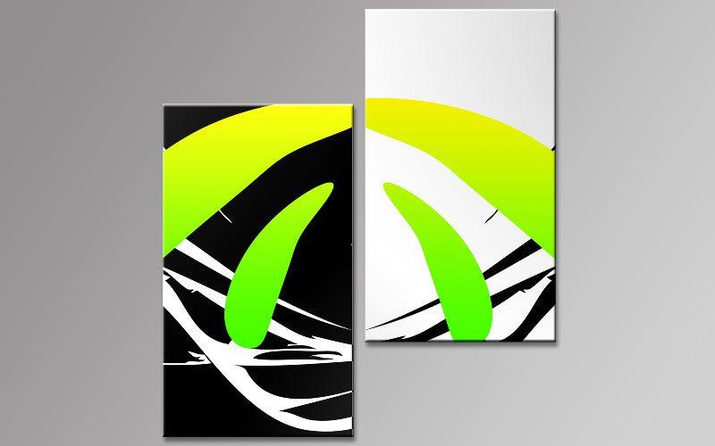 neon pop art leinwand 2 bilder b00757 die leinwandfabrik. Black Bedroom Furniture Sets. Home Design Ideas